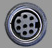 CM11310 - 8-PIN MINI-DIN, F-F