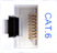 CM11358 - WHITE, CAT-6, RJ-45, F-M