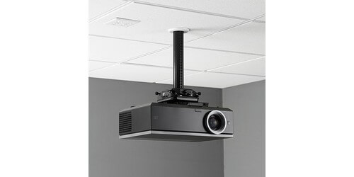 Mount Showing Attached Projector