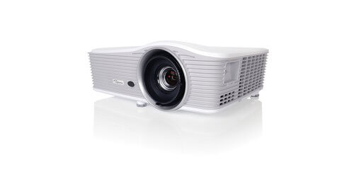 Optoma WU515T WUXGA 6000 Lumen High-Res Projector: HDBaseT, 16:10, DLP  Technology