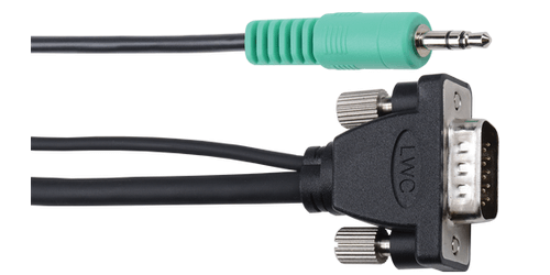 cable connections shown