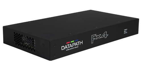 Datapath FX4/H - Main View