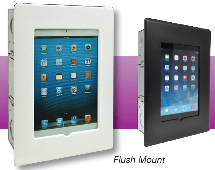 ipad mini flush wall mount