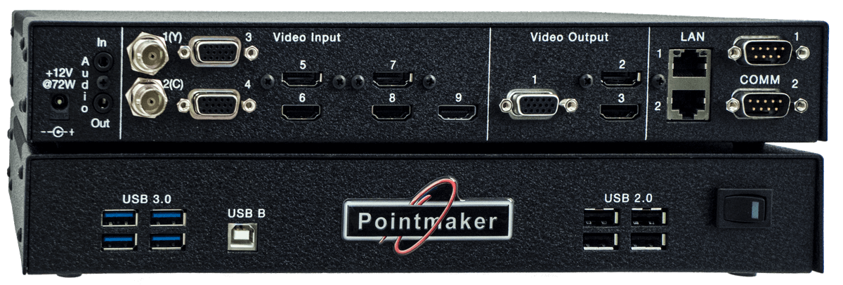 Pointmaker CPN-6000 - Main View
