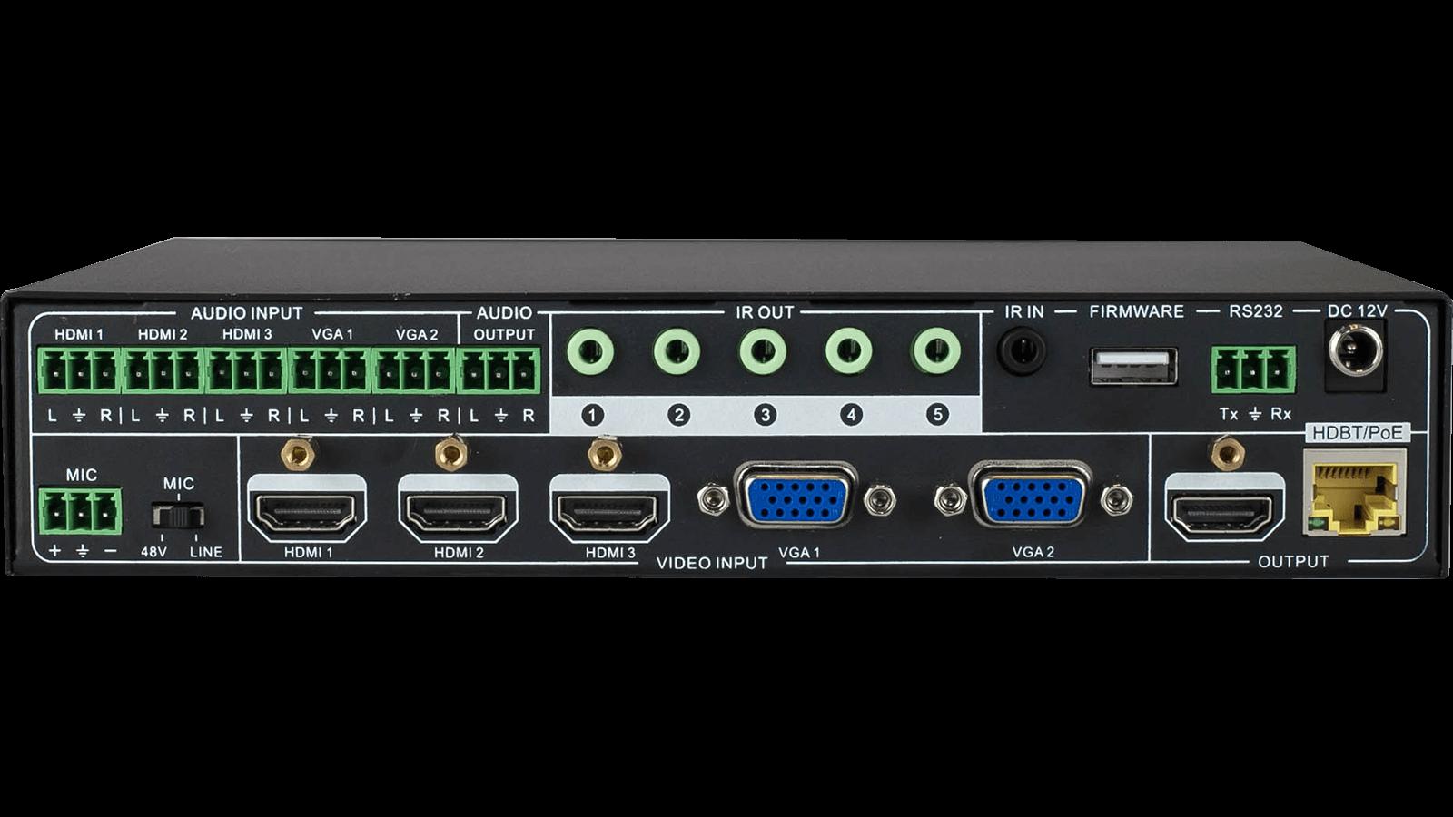 Intelix Digi P52 3 Hdmi 2 Vga Presentation Auto Switcher