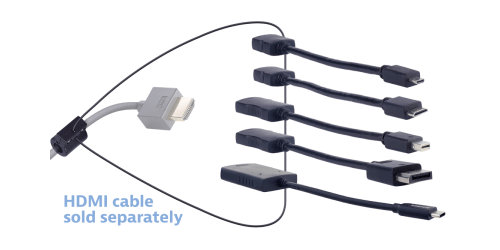 Liberty AV DL-AR1906 HDMI to Multiple Format 5 Adapter Cable Ring w ...