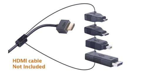 Liberty AV DL-AR2 DigitaLinx HDMI to 4 Adapter Ring Kit - Conference ...