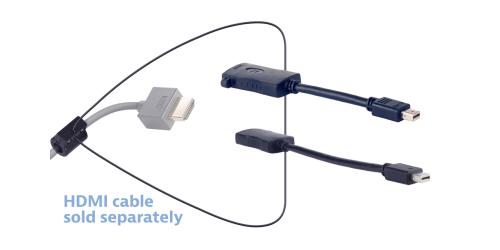Liberty AV DL-AR3773 DigitalLinx Universal HDMI Adapter Ring Kit