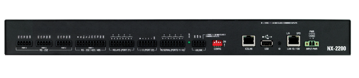 Amx Nx 2200 2nd Generation Netlinx Nx Controller For