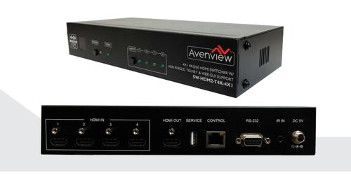 Avenview SW-HDM2-T4K-4X1 - Main View