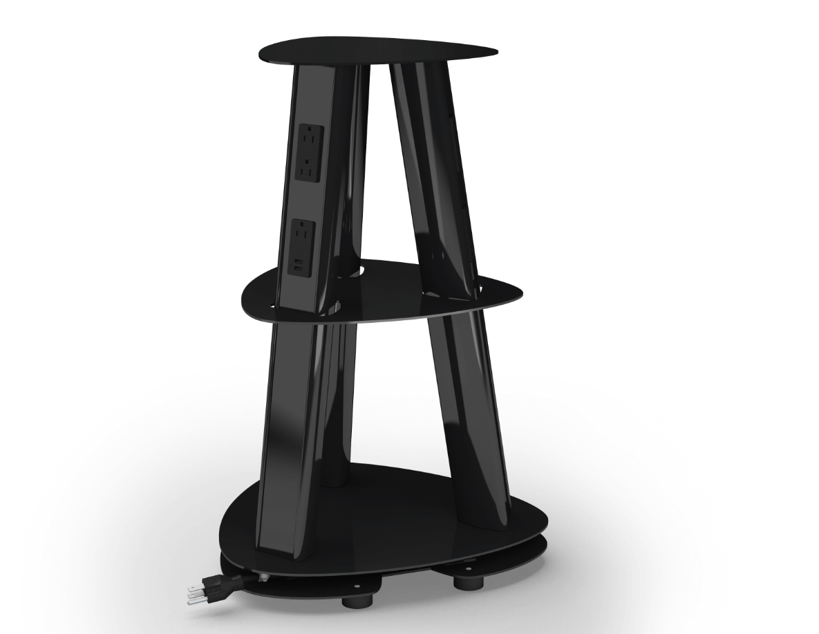 Eca Isle Free Standing Portable Power Tower Charging