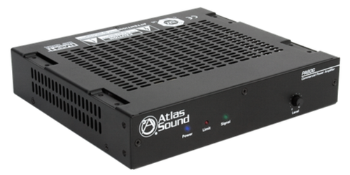 atlas sound pa60g single channel 60w power amplifier with. Black Bedroom Furniture Sets. Home Design Ideas