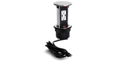 Lew Electric PUR15-S Spill Proof Countertop 2 Power & USB Charging Pop ...