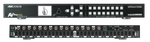 AVPro Edge AC-MX1616-AUHD Front and Back View of Connections