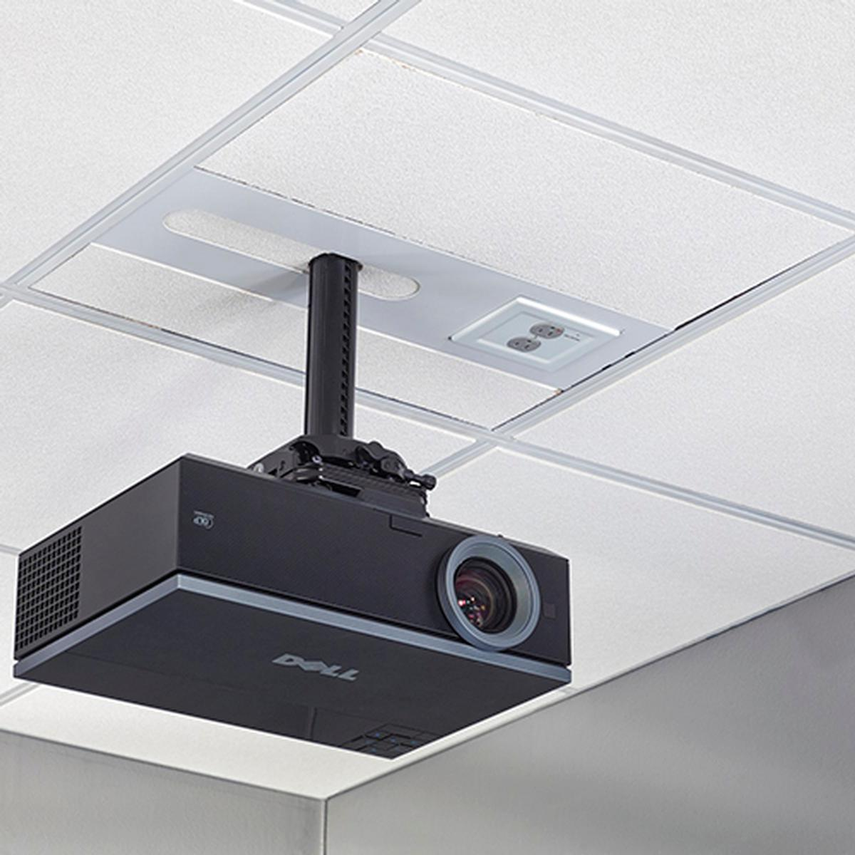 Chief Sysaub Suspended Ceiling Projector System Black