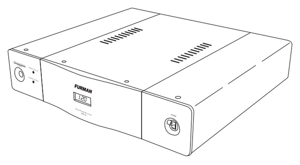 Furman Spr 20i Stable Power Voltage Regulator 20a
