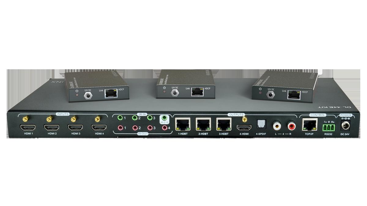 Liberty Av Dl 44e Kit 4x4 Hdbt Matrix Switch With 3