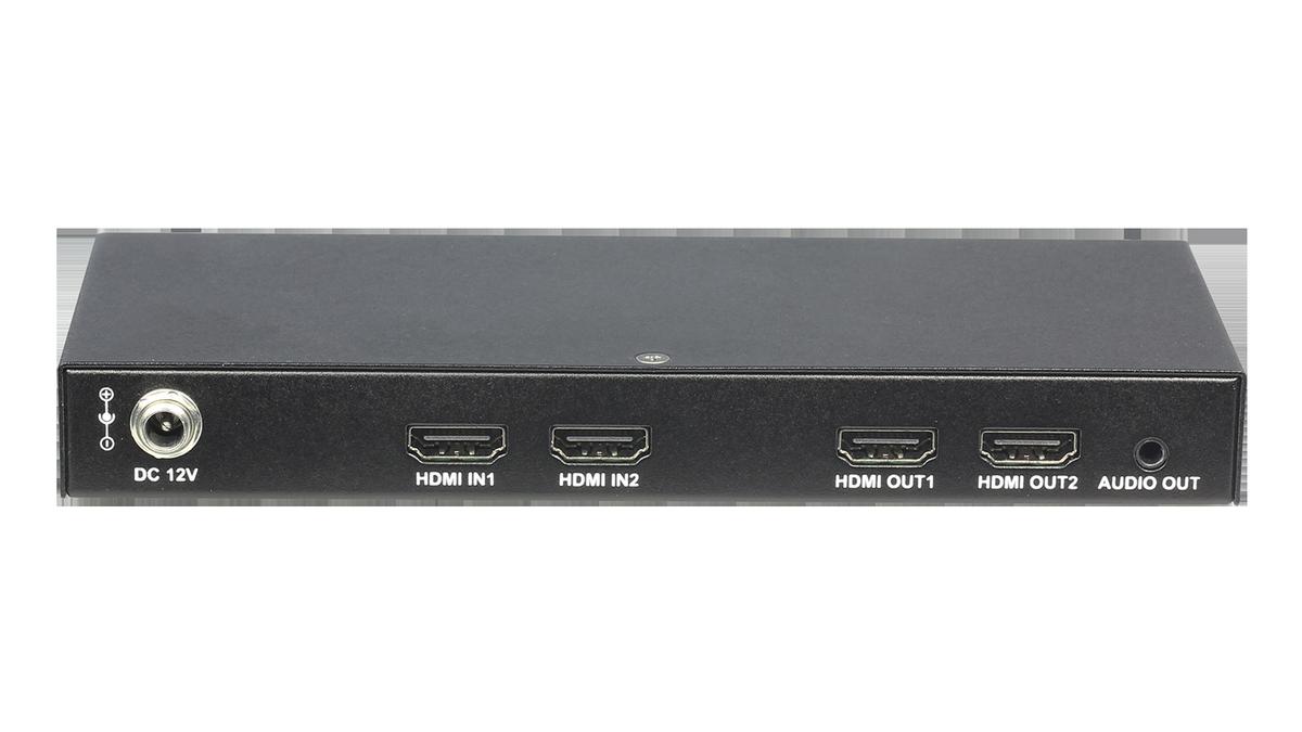 Liberty Av Dl S22 2x2 4k30 Hdmi Matrix Switch Audio De