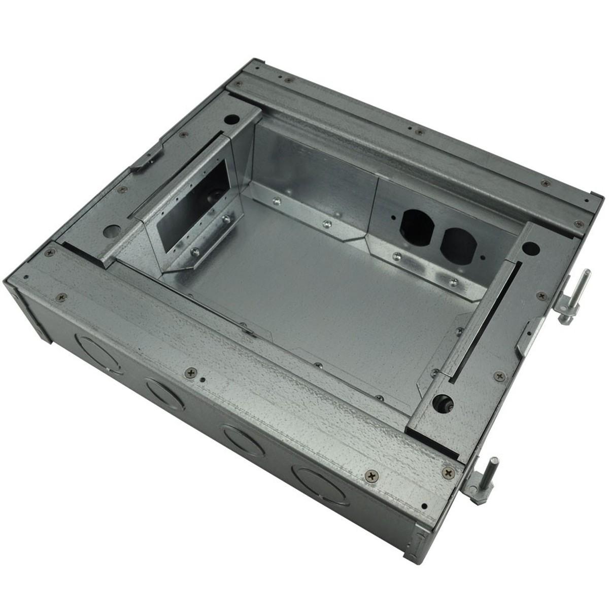 Fsr Fl 600p 3 B Ul Amp Cul Concrete Floor Box 3 Quot Deep 6x1