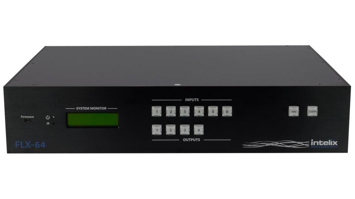 Intelix Flx 64 6x4 Hdmi And Hdbaset 1080p Matrix Switcher