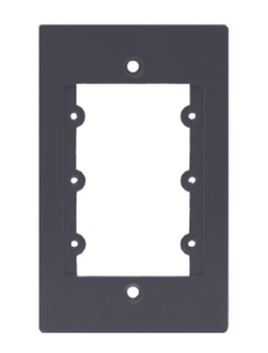 Kramer Frame 1g B 85 000152 1 Gang Modular Black Frame