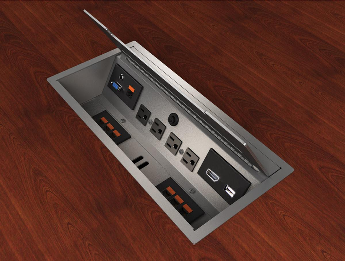Eca Interface L Tt Dc Cable Well W Tilt Up Lid 4 Power