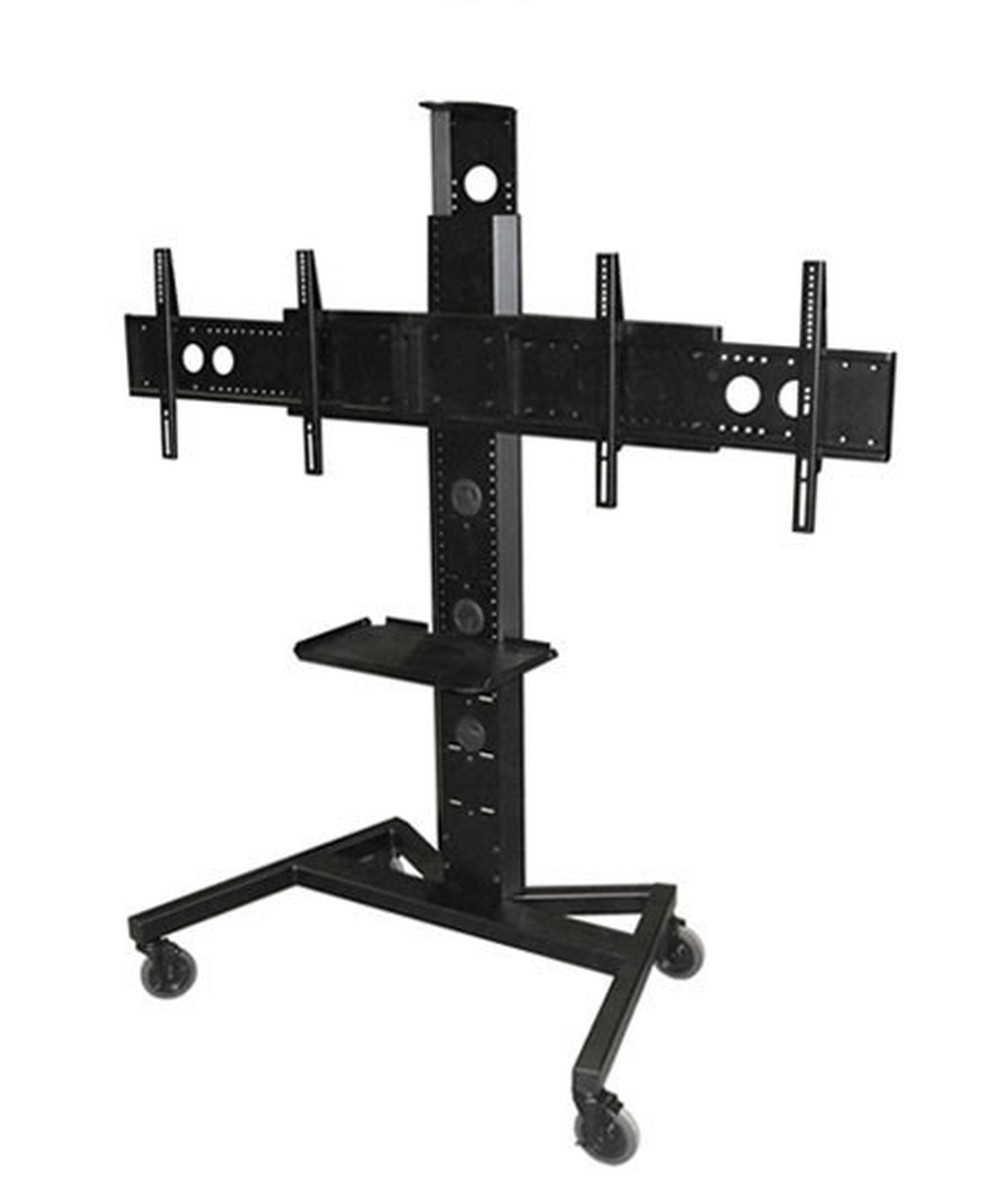 Avf Pm Xfl D Mobile Tv Stand W Shelf Amp Camera Mount