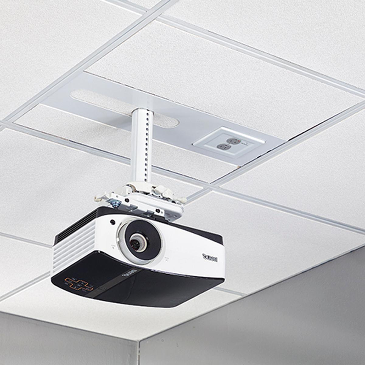 Chief SYSAUWP2 Suspended Ceiling Projector System w/ 2-Gang Filter ...