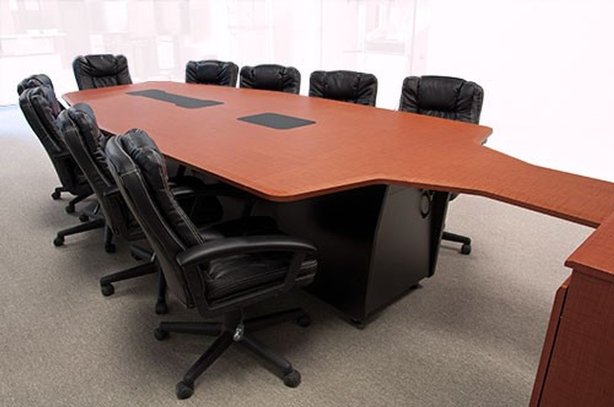 Avf t3500 conference room table configurable from 7 to 12 for 12 person conference table