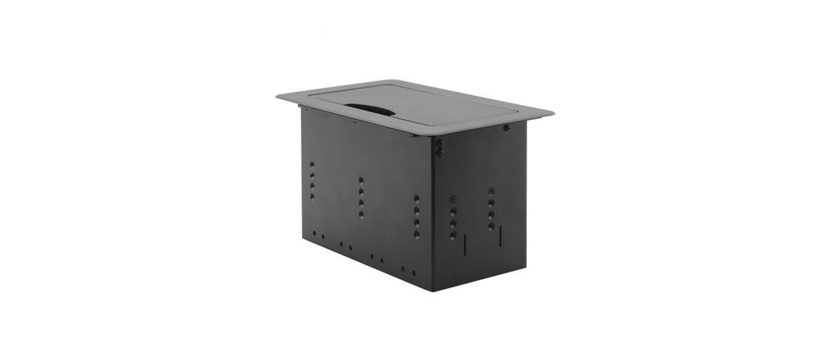Kramer Tbus 5xl B Modular Table Box W Manual Retracting