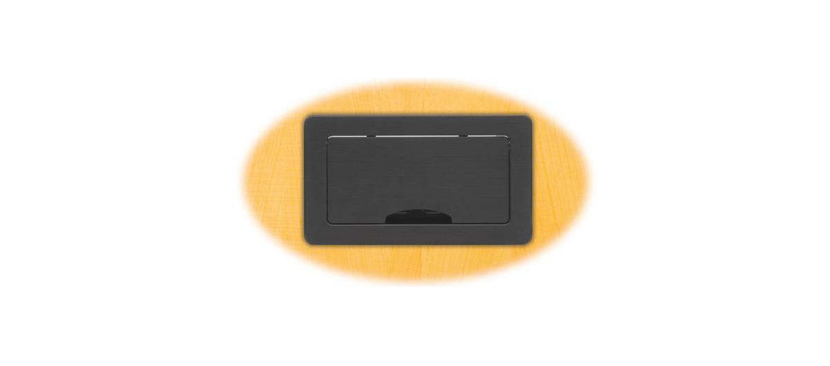 Kramer Tbus 6xl Bc Modular Table Box Manual Retracting