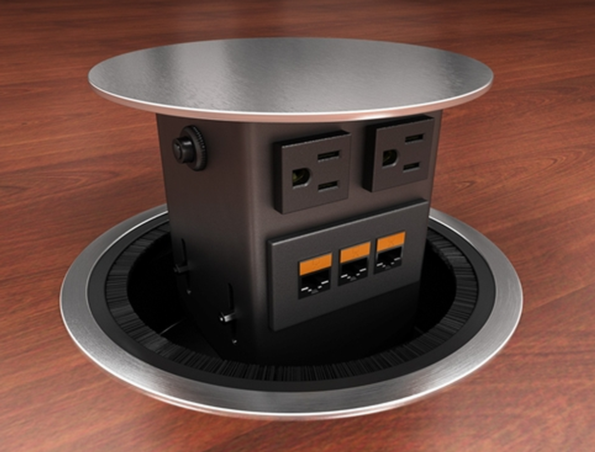 Eca Concept Round Dual Sided Round Pop Up Table Box
