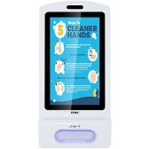Touchless Wall Mounted Hand Sanitizer Kiosk with Digital Display