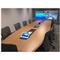 Cisco Telepresence Setup Showing Table Mics Low Profile