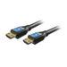 Comprehensive HD18G-15PROBLK Pro AV/IT 18Gb 4K High Speed Black HDMI Cable, ProGrip, 15'